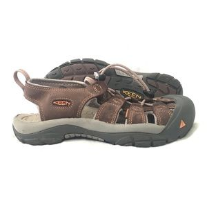 Keen leather Newport EVO waterproof sandals brown